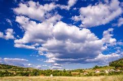 Montes no verão Fotografia de Stock Royalty Free
