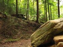 Montes Ohio de Hocking fotografia de stock