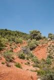 Montes perto de Aix en Provence, França Foto de Stock