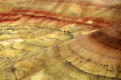 Montes pintados Imagens de Stock Royalty Free