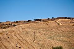 Montes sicilianos no verão Imagens de Stock