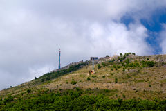 Montes sobre Dubrovnik Imagens de Stock Royalty Free