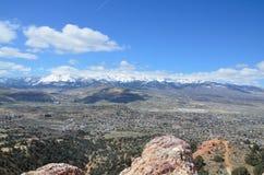 Montes, vale & montanhas imagens de stock