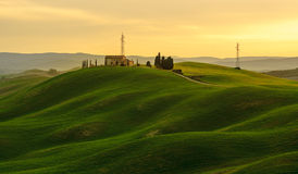 Montes verdes Fotografia de Stock Royalty Free