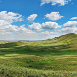 Montes verdes de Ásia Foto de Stock Royalty Free