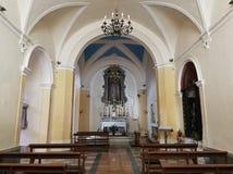 Montesarchio - cappella della chiesa del delle Grazie di Santa Maria Immagine Stock Libera da Diritti