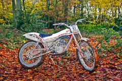 Montessa trials bike Royalty Free Stock Photo