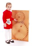 Montessori classroom Stock Images