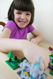 Montessori puzzle. Preschool. royalty free stock photos