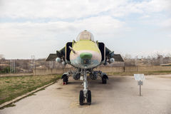 Monteur M4 H Jet Fighter SUs 22 Stockfotos