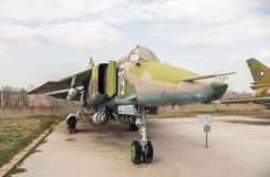 Monteur M4 H Jet Fighter SUs 22 Lizenzfreie Stockfotografie