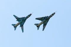 Monteure Su-22 Lizenzfreies Stockfoto