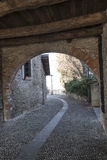 Montevecchia Brianza, italy: old village Stock Photography