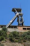 Montevecchio-Bergwerk Sardinien stockbilder