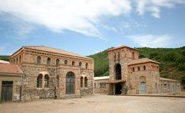 Montevecchio kopalnia Guspini Sardinia, Włochy (-) Obrazy Royalty Free