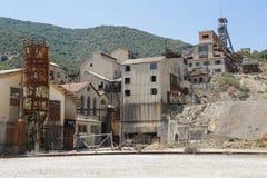 Montevecchio min Sardinia Arkivbilder