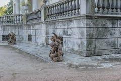 Montevideo Botanical Garden Facade Detail Royalty Free Stock Images