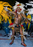 Montevideo carnaval Royalty Free Stock Image
