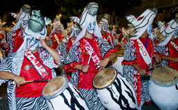 Montevideo carnaval Royalty Free Stock Photo