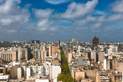 Montevideo City Skyline Stock Photo