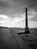 Montevideo Coast Royalty Free Stock Image