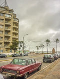 Montevideo Coast Urban View Royalty Free Stock Images