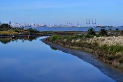 Montevideo de l'ouest Images libres de droits