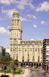 The Palacio Salvo at Montevideo, Uruguay Stock Image