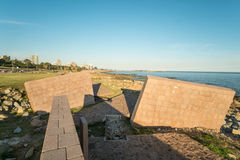 Montevideo Holocaust Memorial Stock Photo