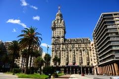 Montevideo i Uruguay Fotografering för Bildbyråer