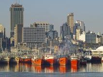 Montevideo-Kanal Lizenzfreies Stockfoto