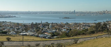 Montevideo-Panorama lizenzfreies stockbild