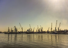 Montevideo reklamy port Zdjęcie Stock