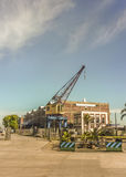Montevideo reklamy port Obraz Stock