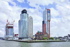 Montevideo residential tower, Rotterdam, Holland. Stock Images