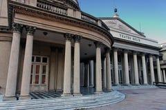 Montevideo Teatro Solis royalty-vrije stock foto