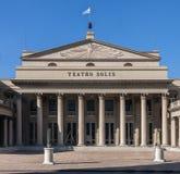 Montevideo Teatro Solis Uruguay royalty-vrije stock afbeeldingen