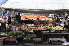Montevideo Uruguay. Farmer's market at Montevideo Uruguay stock photos