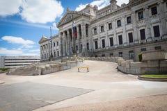 MONTEVIDEO, URUGUAY - 4 FEBBRAIO 2018: Palacio Legislativo i Immagine Stock
