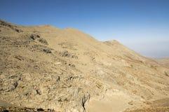 Montez IDA, Idha, Idhi, AIE, Psiloritis est la plus haute montagne sur Crète en montagnes d'IDI Images stock