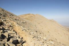Montez IDA, Idha, Idhi, AIE, Psiloritis est la plus haute montagne sur Crète en montagnes d'IDI Photographie stock libre de droits