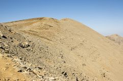 Montez IDA, Idha, Idhi, AIE, Psiloritis est la plus haute montagne sur Crète en montagnes d'IDI Photo stock