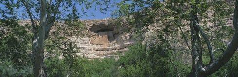 Montezuma城堡,亚利桑那 免版税库存图片