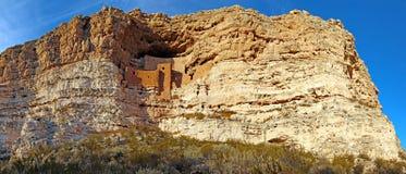 Montezuma城堡 免版税库存照片