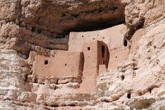 Montezuma城堡 库存照片