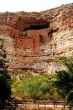 Montezuma的城堡,亚利桑那 库存照片