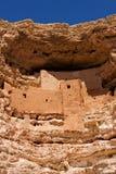城堡montezuma 库存图片
