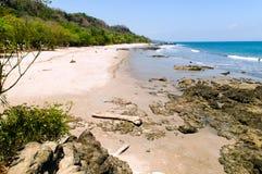Montezuma beach & x28;Costa Rica& x29; Royalty Free Stock Photo