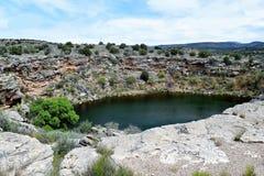 Montezuma-Brunnen Arizona Stockbild