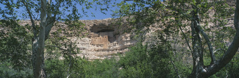 Montezuma Castle Royalty Free Stock Photography